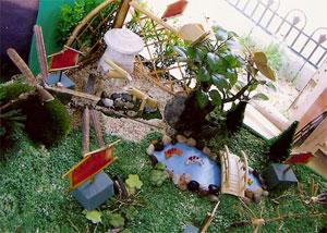 木と竹のコラボレーション